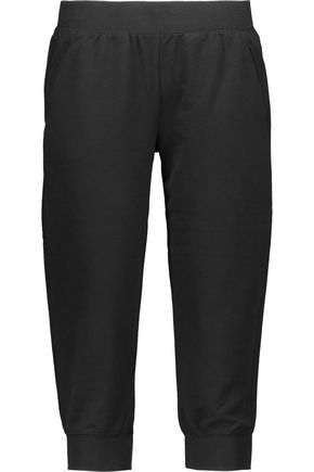 YUMMIE by HEATHER THOMSON Cropped stretch-jersey pants
