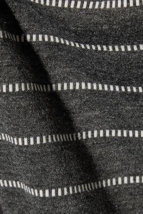 EBERJEY Ticking Stripes printed jersey pajama pants