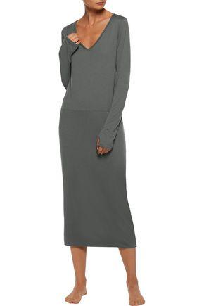 YUMMIE by HEATHER THOMSON® Pima Cotton and modal-blend jersey nightdress