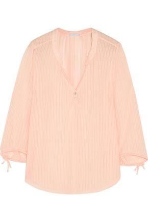 EBERJEY Baxter pointelle jersey pajama top