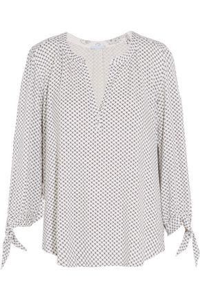 EBERJEY Pattern Play printed stretch-jersey pajama top