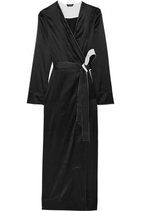 LA PERLA Talisman stretch silk-satin robe