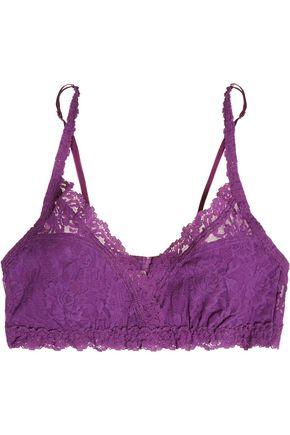 HANKY PANKY Signature Valerie stretch-lace soft-cup bra