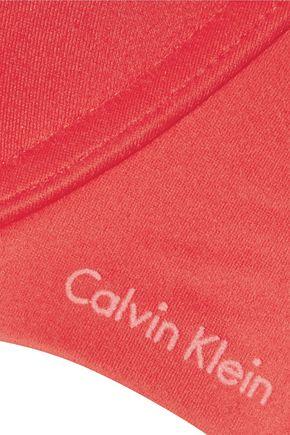 CALVIN KLEIN UNDERWEAR Stretch-jersey underwired bra