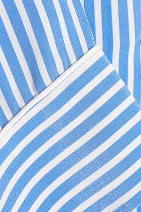 ... EQUIPMENT Lillian striped washed-silk pajama set ... 80a72603c