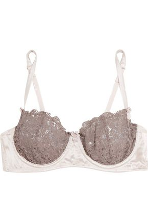 MIMI HOLLIDAY by DAMARIS Lace and tulle contour bra