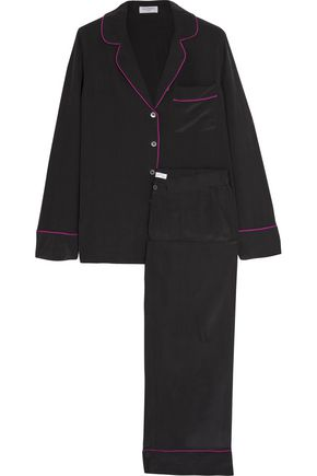 EQUIPMENT Avery washed-silk pajama set