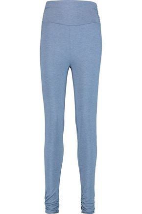 HEIDI KLUM INTIMATES Cozy Mornings ruched stretch-jersey pajama pants