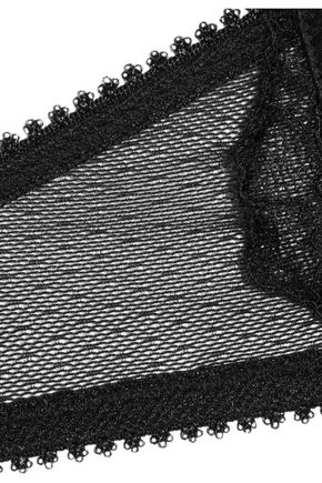 HEIDI KLUM INTIMATES Sublime Ribelle silk-blend satin and lace contour bra