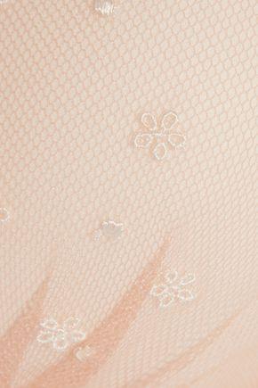 HEIDI KLUM INTIMATES Dolce Vita embroidered tulle balconette bra