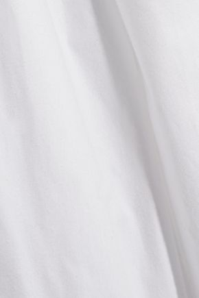 OLIVIA VON HALLE Hemingway cotton-poplin nightdress