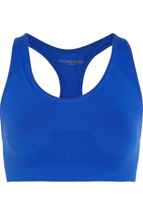 LUCAS HUGH Stretch-knit sports bra