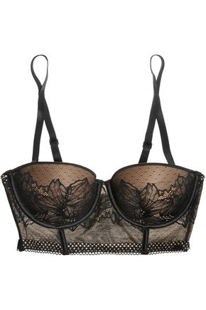 CALVIN KLEIN UNDERWEAR Sway stretch-lace underwired multi-way bra
