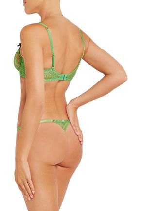 AGENT PROVOCATEUR Payge lace thong