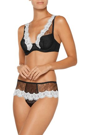MIMI HOLLIDAY by DAMARIS Lace and tulle thong
