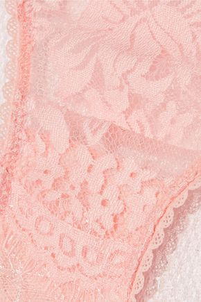 MIMI HOLLIDAY by DAMARIS Low-rise cotton-lace briefs