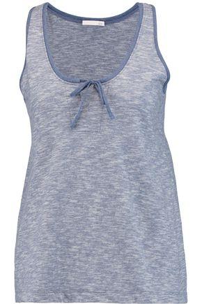SKIN Moline cotton-jersey pajama tank