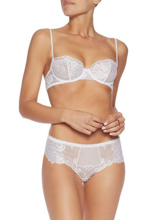 LA PERLA Chantilly lace underwired bra