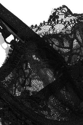 LA PERLA Maharani Chantilly lace underwired bra