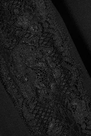 COSABELLA Talco lace-paneled stretch-jersey chemise