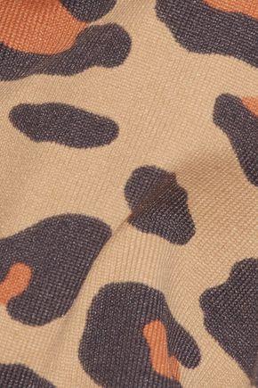 BODYISM + Charlotte Olympia I Am Wild leopard-print sports bra
