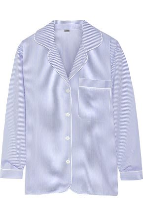 BODAS Striped cotton pajama top