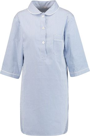BODAS Verbier striped Swiss cotton nightdress