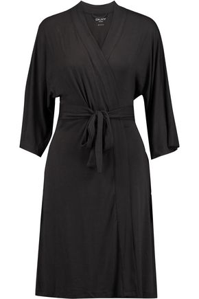 DKNY Stretch-modal jersey robe