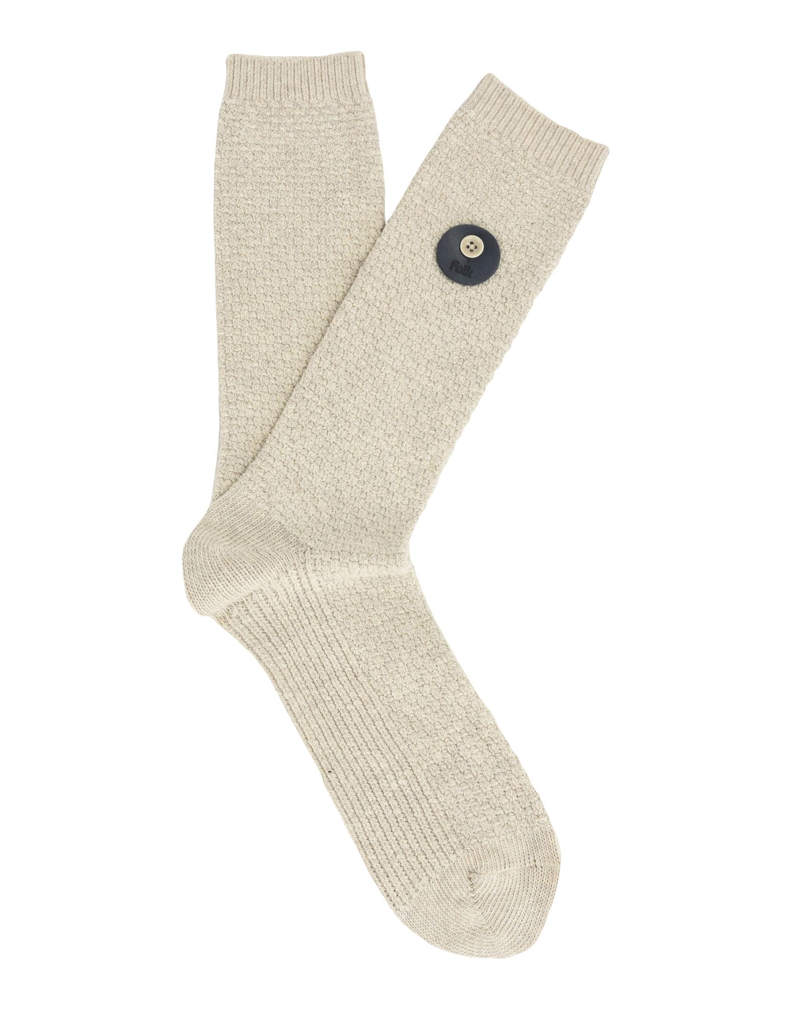 FOLK Короткие носки vintage folk style fringe woven thin belt