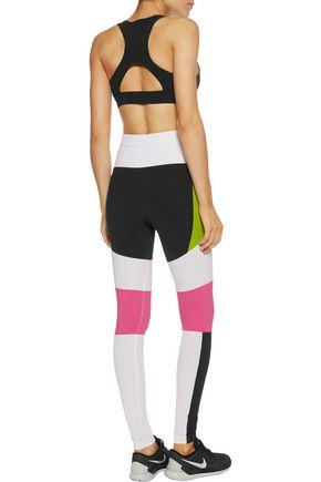 NO KA 'OI Hala stretch-jersey sports bra