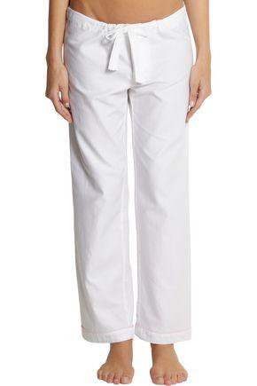 BODAS Cotton-twill pajama pants
