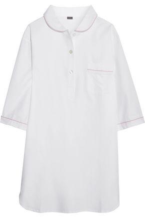BODAS Cotton-twill nightshirt