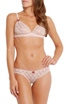 STELLA McCARTNEY Camille Dashing lace underwired bra
