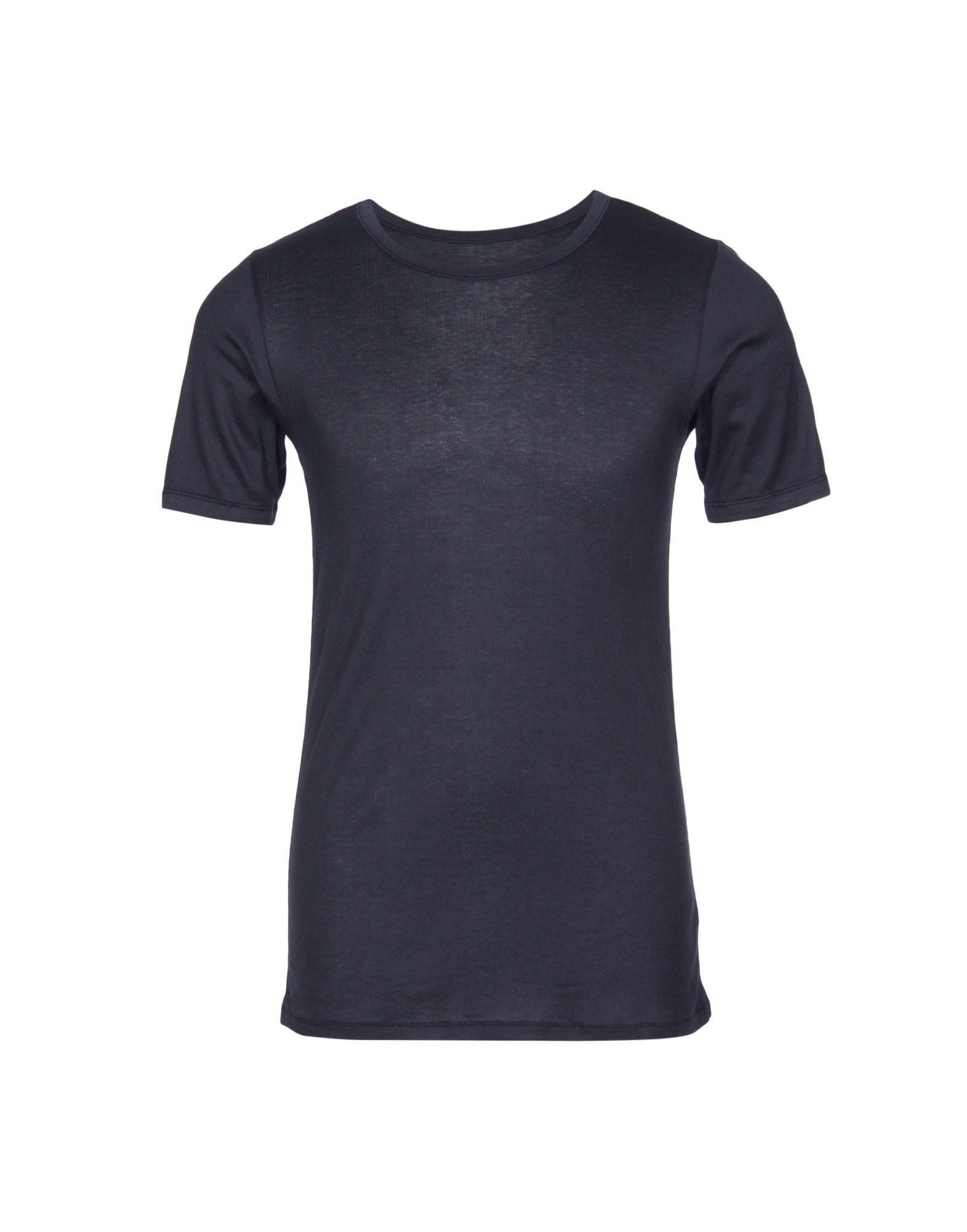 SCHIESSER Undershirts in Dark Blue