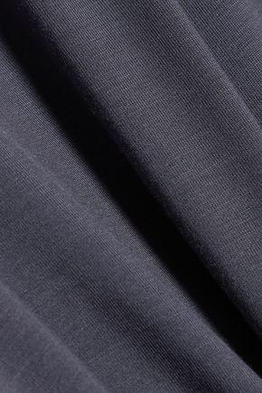 HEIDI KLUM INTIMATES Lace-trimmed stretch-jersey pajama top