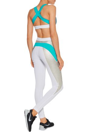 NO KA 'OI Huli knitted sports bra