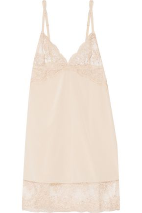 MIMI HOLLIDAY by DAMARIS Every Yours lace-trimmed silk chemise