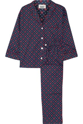 SLEEPY JONES Printed cotton pajama set