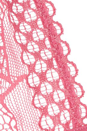 LA PERLA Myrta stretch-lace and jersey triangle bra