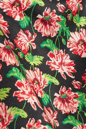 STELLA McCARTNEY Ellie Leaping floral-print stretch-silk camisole