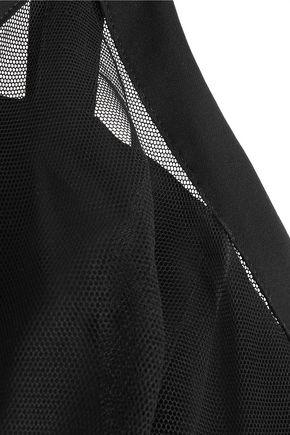 LA PERLA Stretch-jersey and stretch-tulle underwired bra