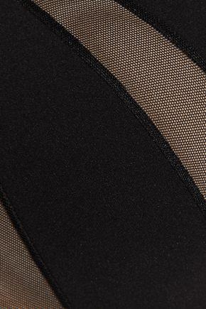 LA PERLA Scuba Couture stretch-tulle and stretch-jersey push-up bra