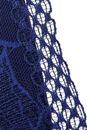 LA PERLA Myrta lace and stretch-jersey underwired bra