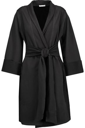 SKIN Stretch-cotton robe
