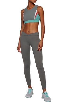 NO KA 'OI Lani color-block stretch sports bra