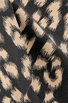 STELLA McCARTNEY Stella Smooth low-rise printed stretch-jersey briefs