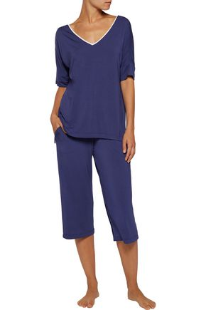 DKNY Stretch-modal pajama top