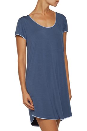 DKNY Stretch-modal jersey nightdress