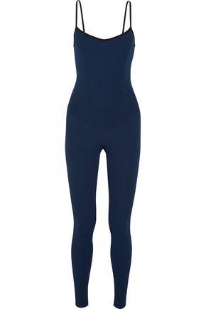 LIVE THE PROCESS Paneled stretch-knit bodysuit