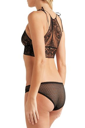 1f3cfe4e6a2d1 ... STELLA McCARTNEY Ophelia Whistling stretch Leavers lace briefs